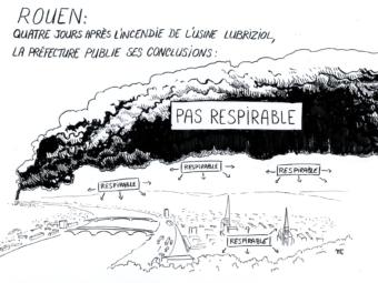 Smoke on Rouen